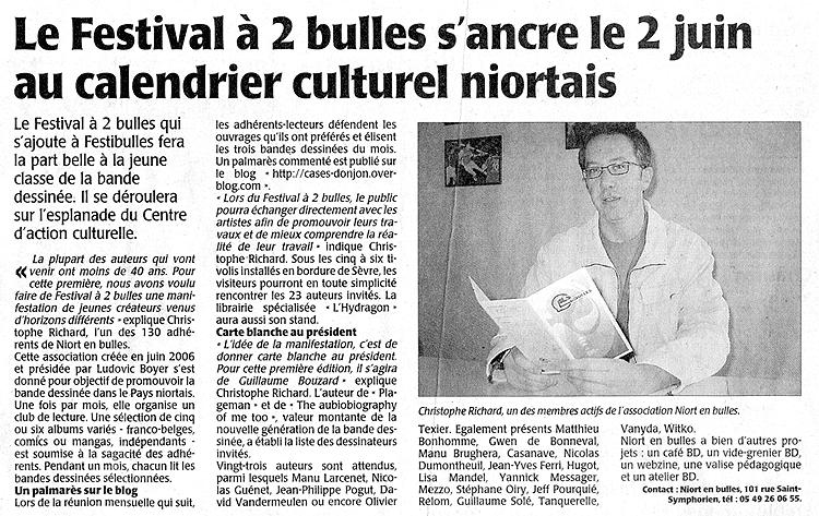 Festival A2Bulles Christophe RICHARD