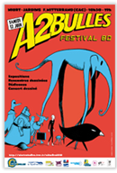 festival A2 bulles de Niort Affiche_2010